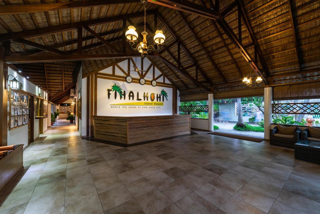 رسپشن هتل فیهالهوهی مالدیو