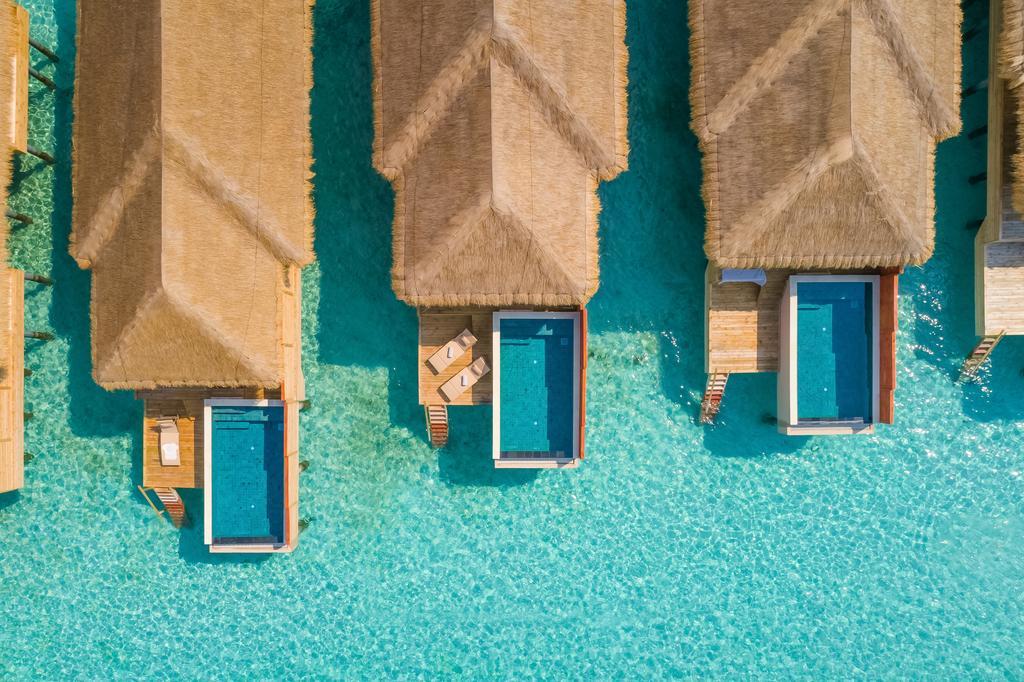 واترویلاهای استخر دار کودافوشی مالدیو